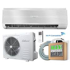 celiera 35gwx 12000 btu 540 sq ft single ductless mini split air conditioner with heater