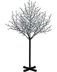 outdoor blossom tree led lights. hi-line gift ltd floral lights outdoor cherry blossom tree, 600 led lights, tree led e