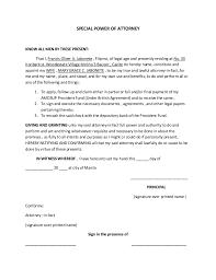Special Poa Form Omfar Mcpgroup Co
