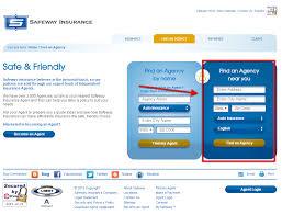 safeway auto insurance quote step 2