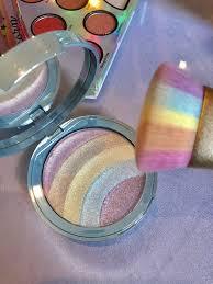 too faced cosmetics rainbow strobe highlighter