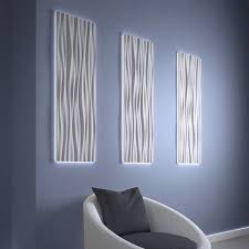 wall mounted decorative panel led easy to install commercial light frame for arstyl wall panels