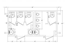 Ada Bathroom Dimensions With Simple Sink And Toilet For Ada Public - Ada accessible bathroom