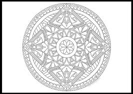 Small Picture Free Mandala Coloring Page II The Coloring Book Club