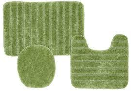 awesome 3 piece bathroom rug sets mesmerizing alluring green fluffy bath rugs with 3 piece bathroom