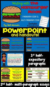 my rainy day creations hamburger paragraphs writing skills  do you use the hamburger model to teach students to write expository paragraphs and essays
