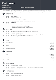 Analytics Resumes Data Analyst Resume Sample Complete Guide 20 Examples