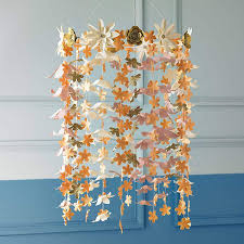 how gorgeous is this handmade metallic paper flower chandelier by comeuppance not on the high