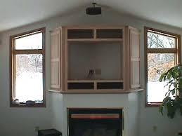 tv cabinet over fireplace oak tv stands fireplace
