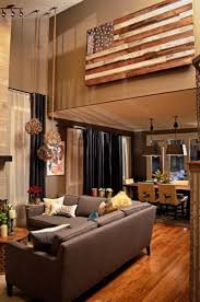 Southwestern Living Room Furniture Living Room Vaulted Ceiling Paint Color Cabin Staircase