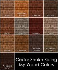 exterior stain for cedar. pre-stained cedar shingles mocha - google search more exterior stain for n