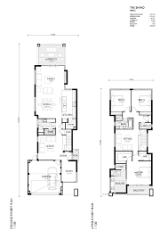 view home view floor plan meter wide house plans