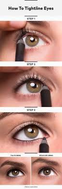 tight lining perfect makeup