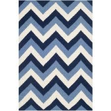 navy blue chevron area rug  cievi – home