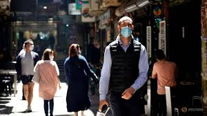 The 15 visitors can be split over the day and each visitor can come. Australia S Covid 19 Cases On The Rise As Masks Made Compulsory Cna