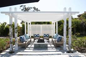 Outdoor Pergola And Fire Pit The Sunny Side Up Blog