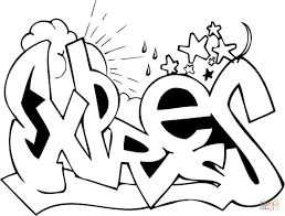 Small Picture Graffiti coloring pages Free Coloring Pages