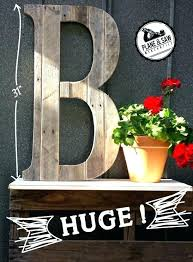 decoration big wood letters stylish large rustic letter cutout custom wooden wall decor within 7 unfinished photo collage letters custom letter wood