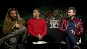 The actor, who played the character of cyborg in the superhero film, claims dc films executive geoff johns belittled his concerns and. Justice League Interview Ben Affleck Jason Momoa Ray Fisher Youtube