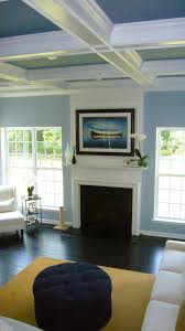 What color should i paint my ceiling Benjamin Moore Beautiful Tricolor Coffered Ceiling This Looks Perfect For Formal Living Room Pinterest What Color Should Paint My Ceiling Part Ii Livingfamily Rooms
