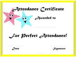 online certificate maker templates attendance free word documents