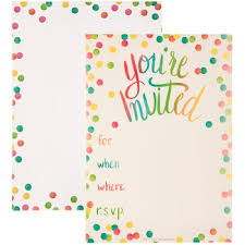 Polka Dot Invitations Polka Dot Invitations Hobby Lobby 1356435