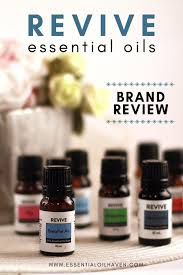 Revive Essential Oils Brand Review Proudly Bottled In The