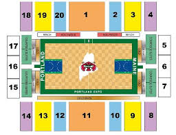 Portland Expo Seating Chart Maine Correct Nets Seating Chart 2019