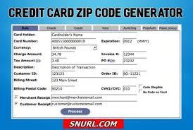 2019 Card Best Zip Generator com - Online Code Credit Snurl 5