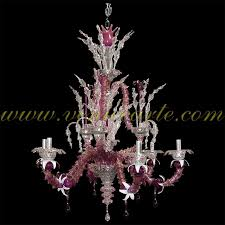 z055 murano glass chandelier 6 lights
