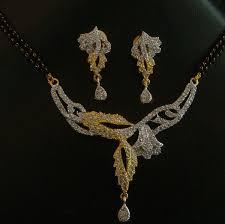 cz brass jewelry pendant necklace set exporter