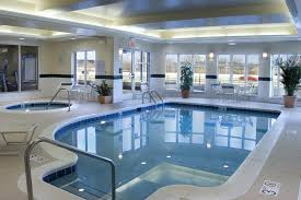 the swimming pool at or near hilton garden inn akron canton airport