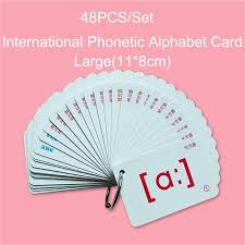 Phonics games online by level, preschool reading games, kindergarten reading games, 1st grade reading games, 2nd grade reading games. 48pcs Set English Flashcards International Phonetic Alphabet Card Educational Learning Portable Table Game Toys For Children Aliexpress