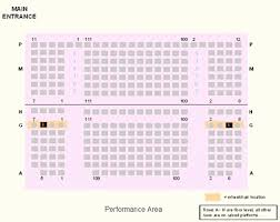Microsoft Theater Seating Chart With Seat Numbers Elegant