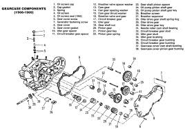harley diagrams and manuals gearcase assembly 1966 1969