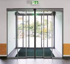 automatic telescopic sliding doors