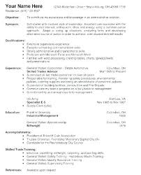 Work Statement Examples Resume Objective Statement Examples For Warehouse Worker Example