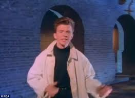 Rickroll Rick Astley music video is mysteriously removed from ... via Relatably.com