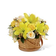 the ftd sunny surprise basket