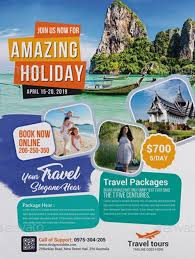 Free Travel Agent Flyer Templates Travel Agency Business Flyer