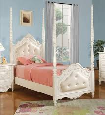 Fabulous Twin Canopy Bed Frame with Interesting Design Of Twin Size ...