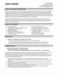 Marketing Coordinator Resume Objective Sample Beautiful Sales Resume