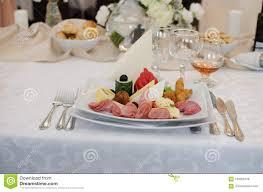 Wedding Food Tables Wedding Food Stock Photo Image Of Plate Fine Plates 100268138
