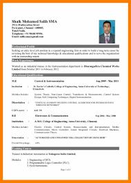 Mba Resume Format For Freshers Resume Peppapp