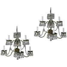 french brass crystal chandelier