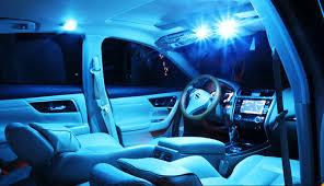 12pcs ice blue led package kit bulbs car interior lights for 2004
