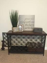 furniture denhaus wood dog crates. turned a console table into decorative dog crate furniture denhaus wood crates