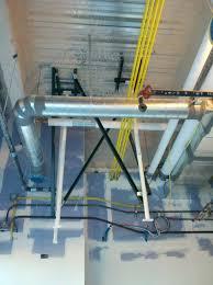 unistrut patient lift install