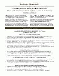 Firefighter Cv Sample Police Officer Resume Example Http