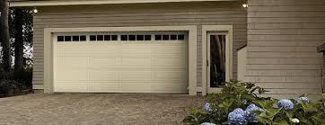 almond garage doorThermacore Steel Garage Doors